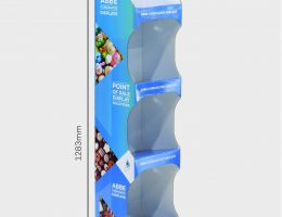 4 Shelf Medium Easy Assemble Display