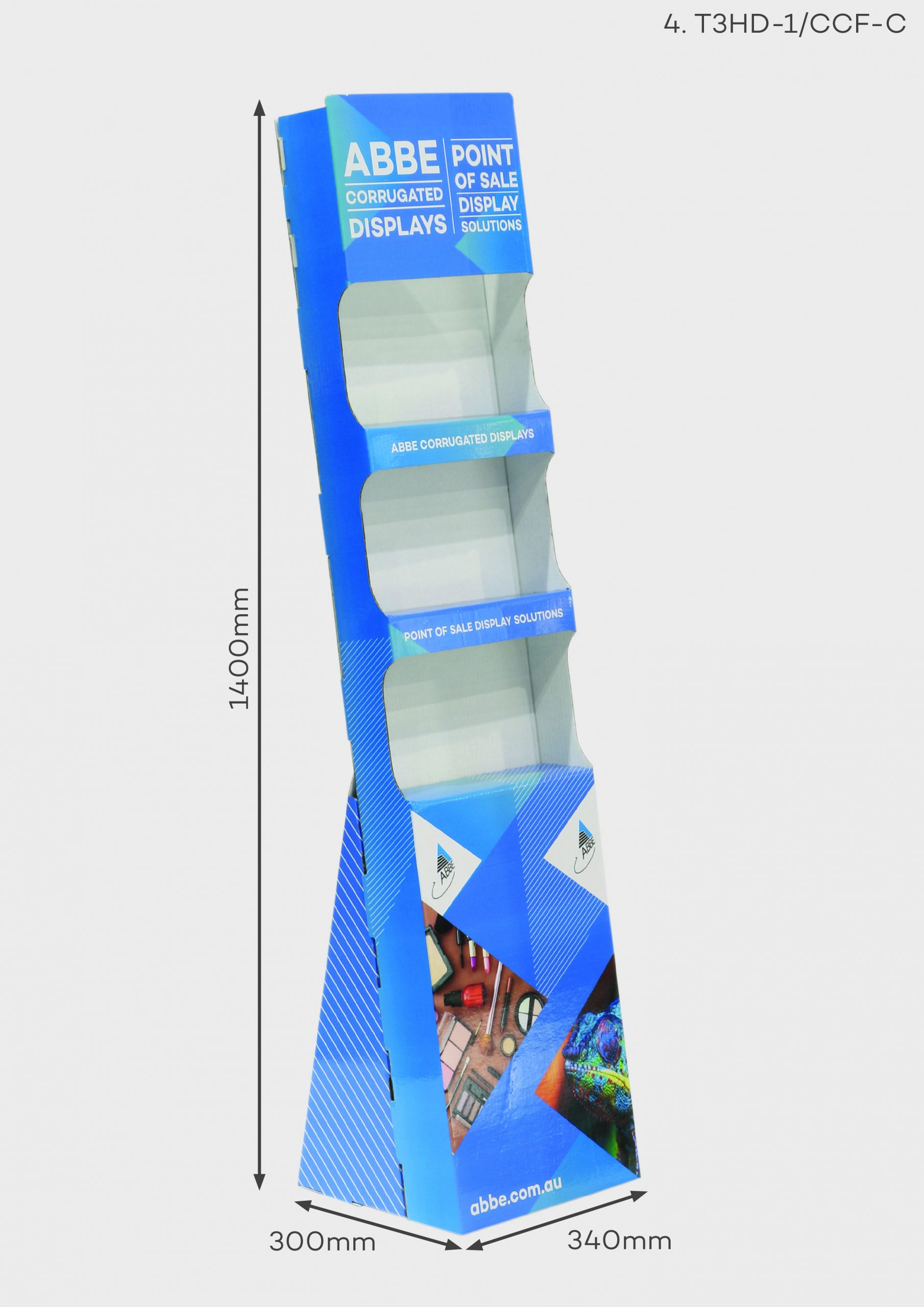 3 Shelf Display (Ref T3HD-1/CCF-C)