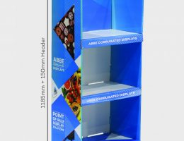 3-Shelf Medium Display