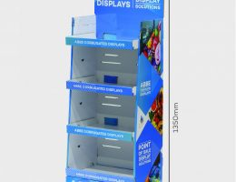 4 Shelf Medium Display Stand