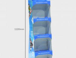 5 Shelf Slimline Display