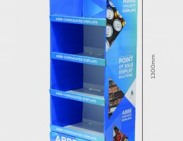 4 Shelf Wide Display