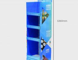4 Shelf Slimline Display