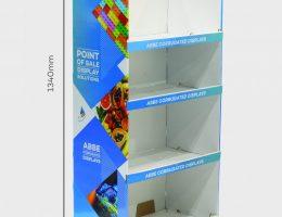4 Shelf Large-Wide Display