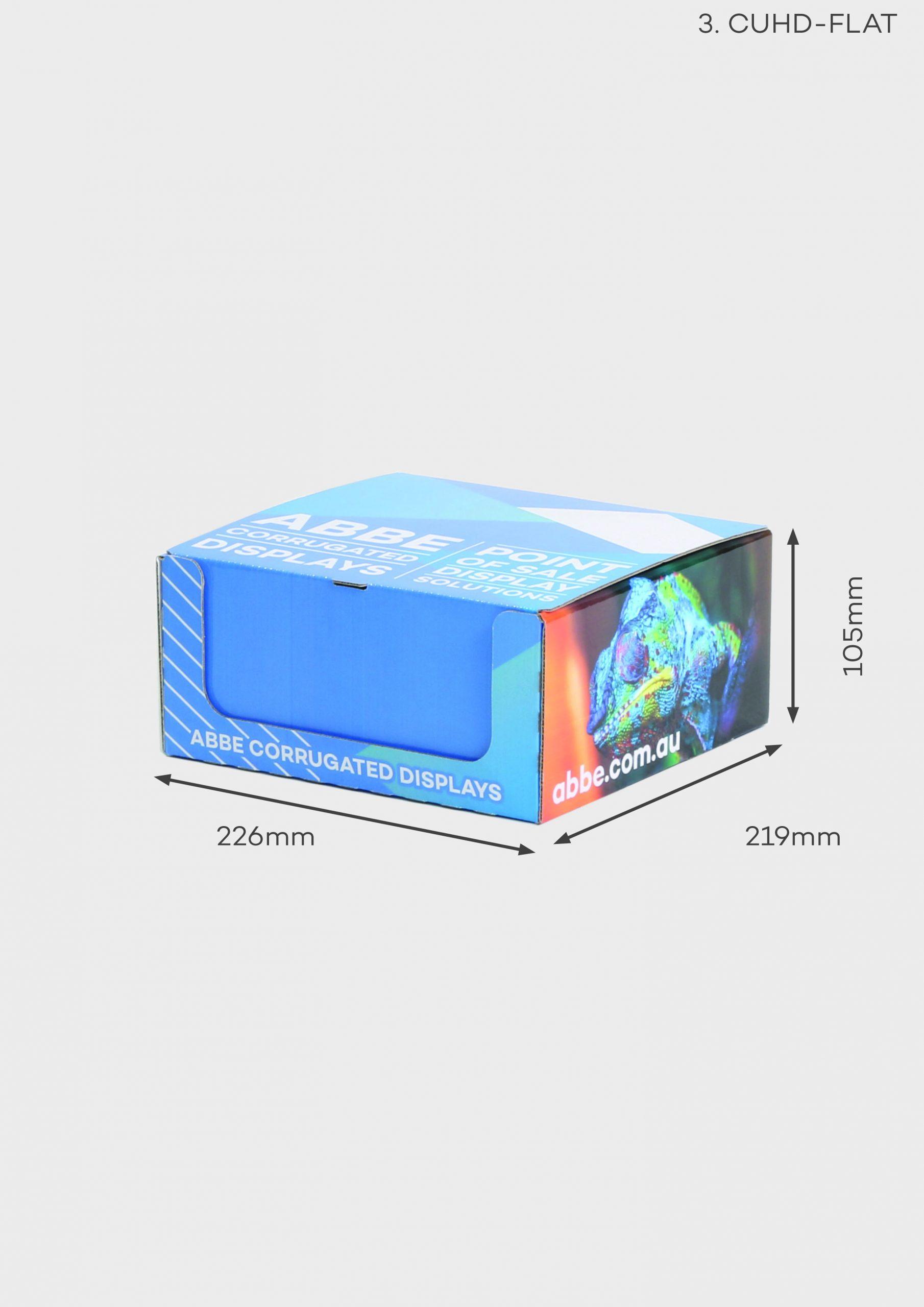 Counter Display - Mailer (Ref CUHD-FLAT)