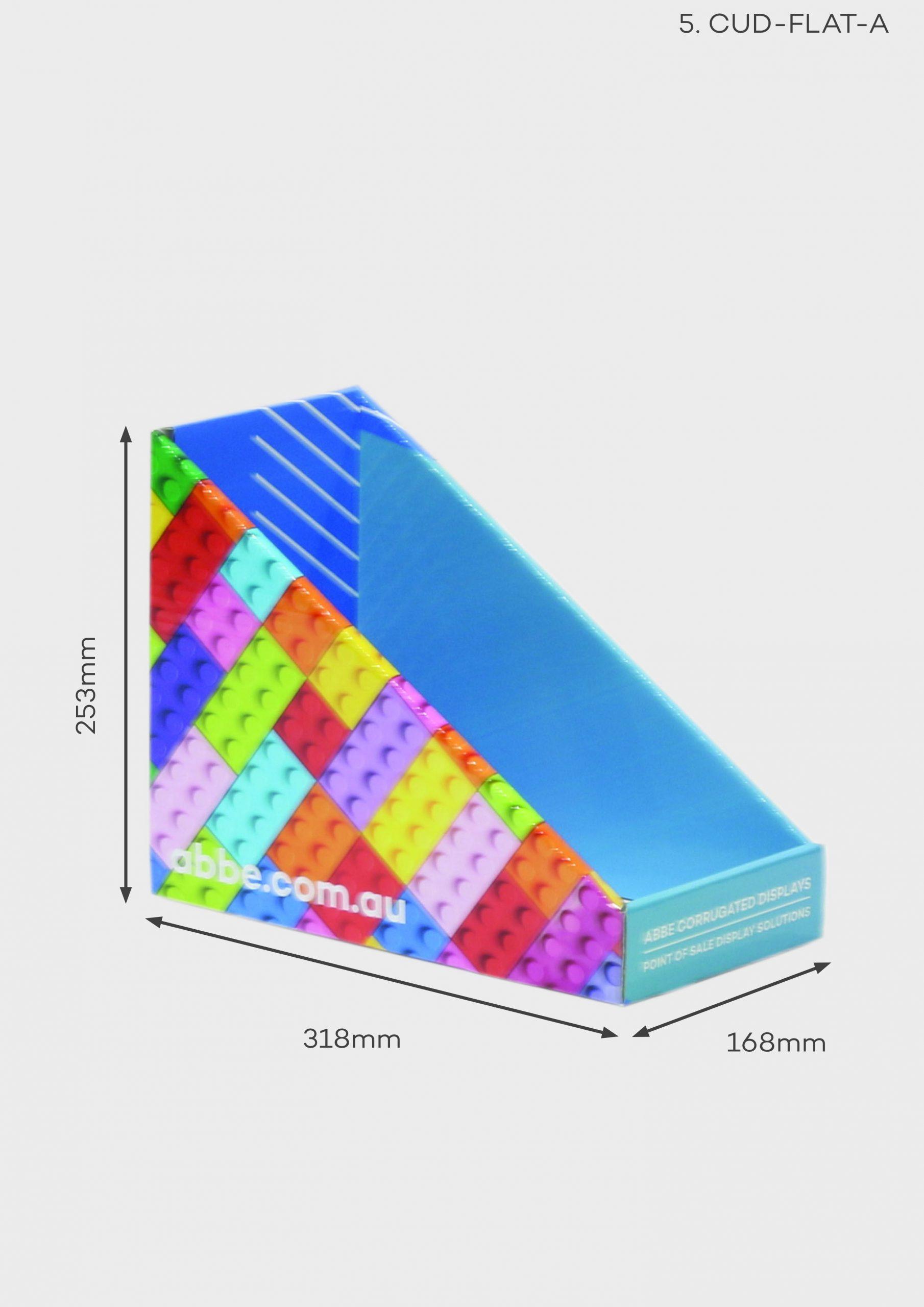 Small Deep Counter Display (Ref CUD-FLAT-A)