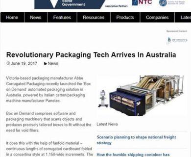 Revolutionary Packaging Tech Arrives In Australia