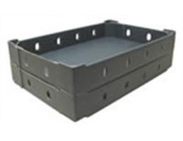 Shelf Ready Black Trays