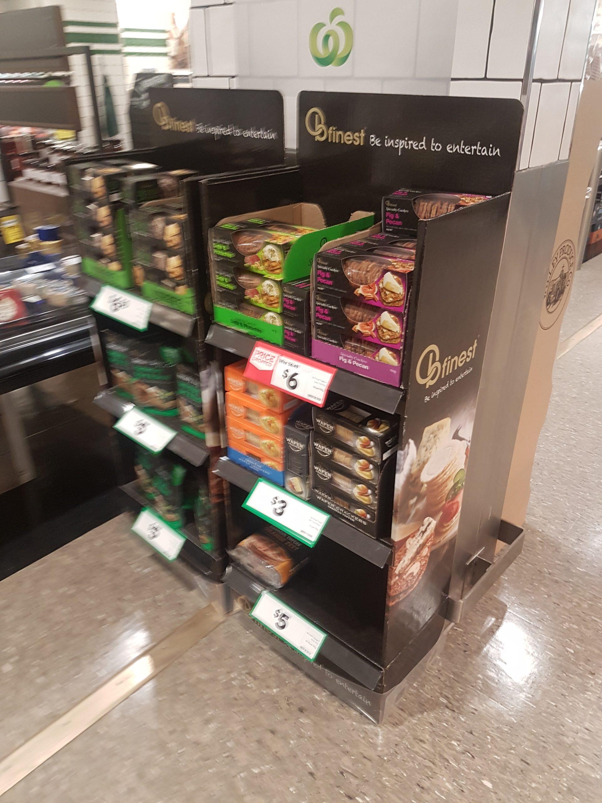 3-Shelf Retail Display