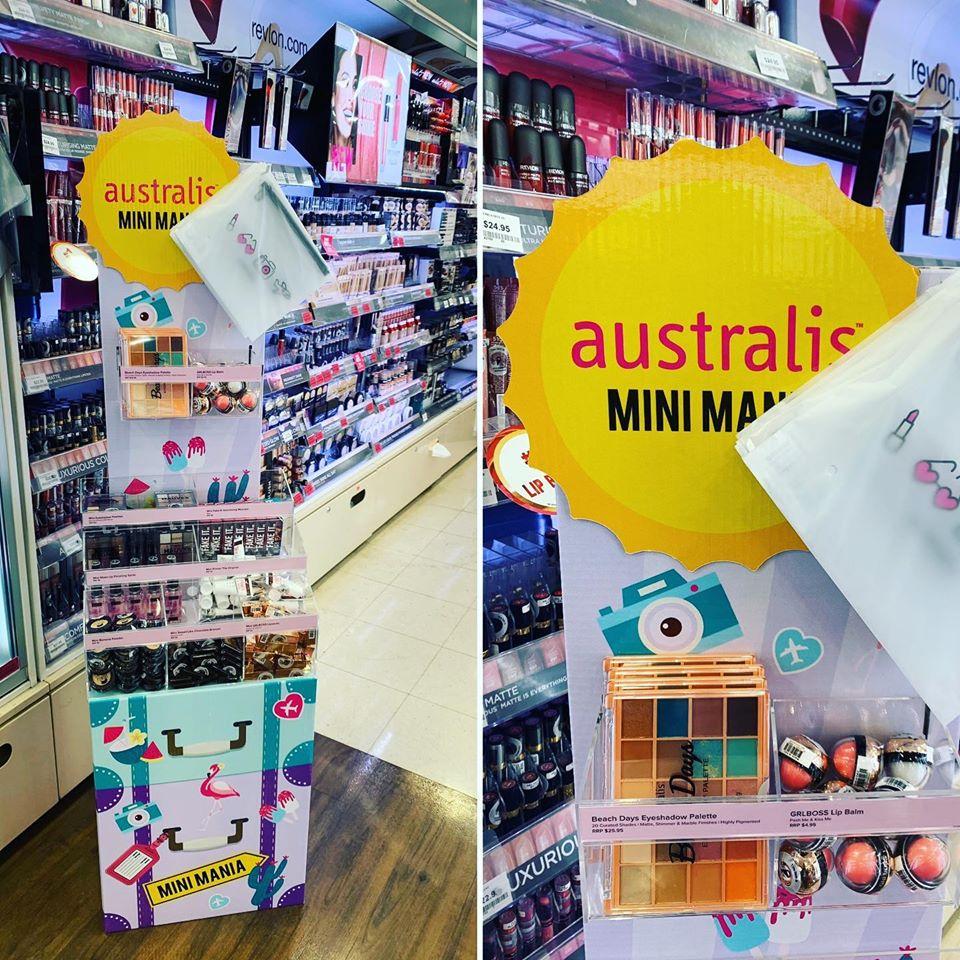 Pharmacy & Beauty Custom Design Display Stand