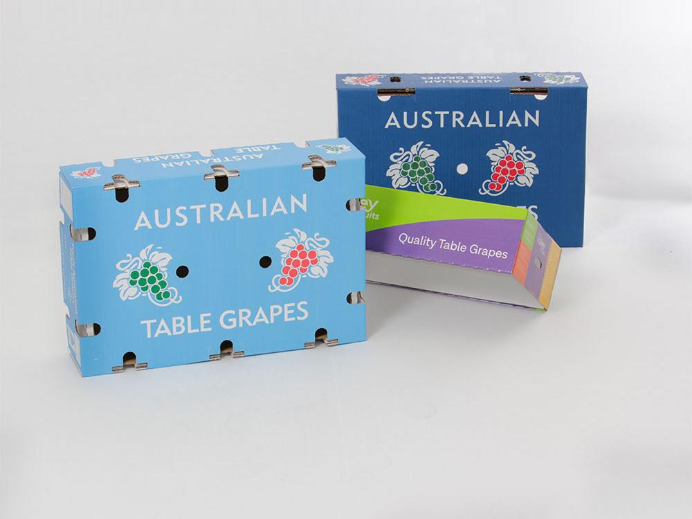 Grape cartons - Lid & Base (Waxed & Unwaxed)